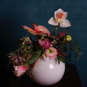 Centro de mesa en espuma floral