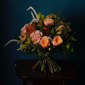 Bouquet en espiral