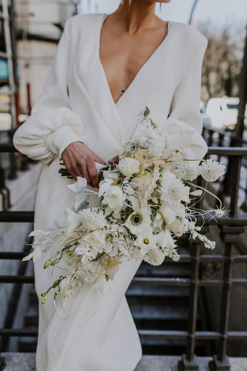 bodas minimalistas - Nueva coleccion ramos de novia 2